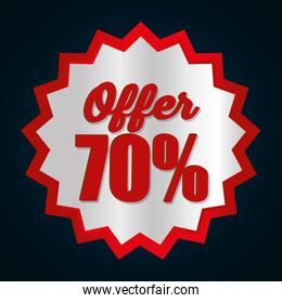 Big sales and special offers shopping
