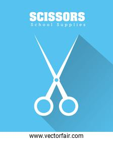 Scissor icon design