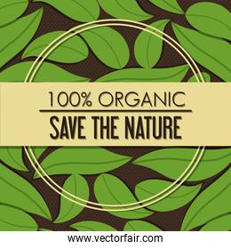 Green ecology label