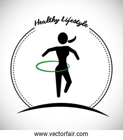 Fitness and sport lifestyle