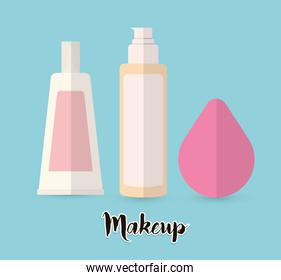Womens make up and cosmetics