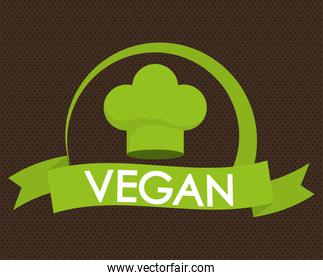 Vegan icon  design