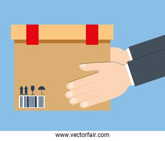 Delivery design. Shipping icon. Flat illustration , vector