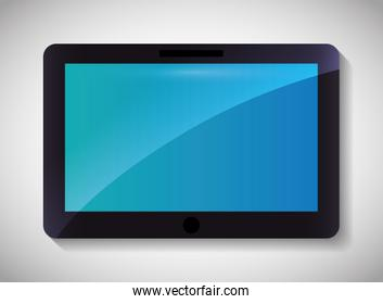 Tablet icon.Technology design. Vector graphic