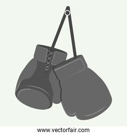 glove boxing sport design