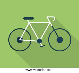 Bike of healthy lifestyle concept