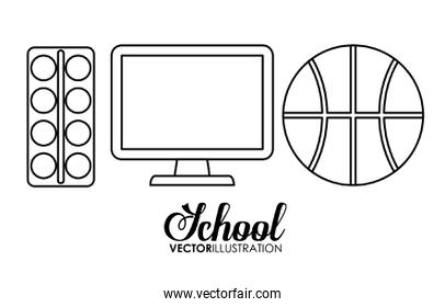 School supply and object design