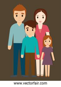Parents and kids family design