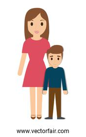 Mother and son family design