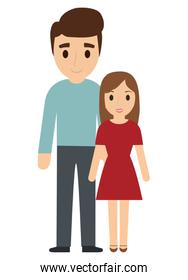 Father and daughter family design