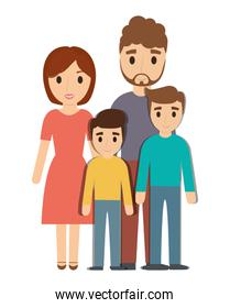 Parents and son family design