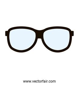classic frame glasses icon image