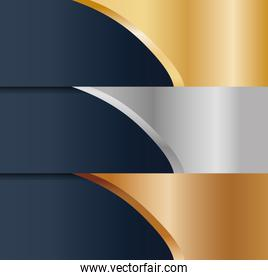 abstract gold silver bronze metals icon image