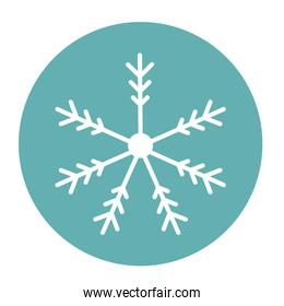winter snowflake icon