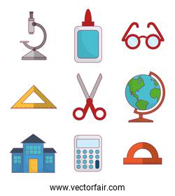 school related icons