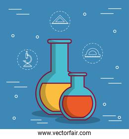 chemical flask design