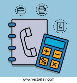 office and business related icons