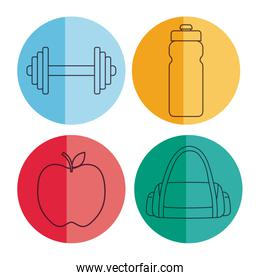 healthy and fitness lifestyle design