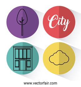 city related icons