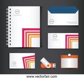 corporate identity branding template design