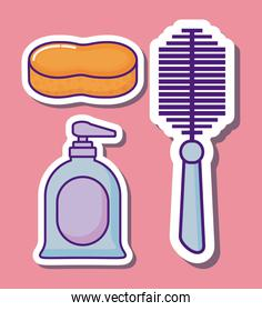 Cleaning supplies design