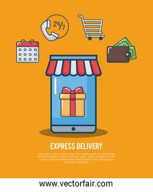 Express delivery design