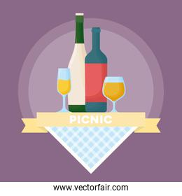 picnic summer design