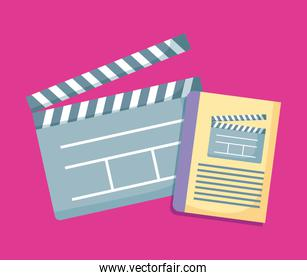 clapboards director of cinema icon