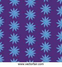 tropical leafs icon pattern