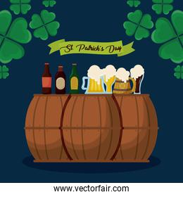beers and barrels of st patrick day