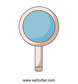 search magnifying glass icon vector ilustration