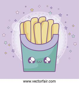 fresh french fries kawaii style