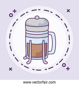 cup of beverage coffee isolated icon