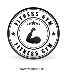 Fitness and gym design , vector illustration