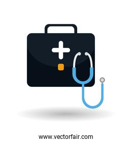 stethoscope icon design , vector illustration