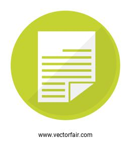 paper document icon image
