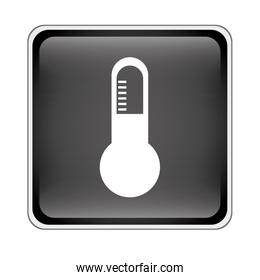 thermometer instrument icon