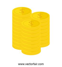 golden coins icon image