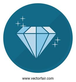 shiny diamond emblem icon image