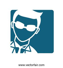 spy pictogram icon image