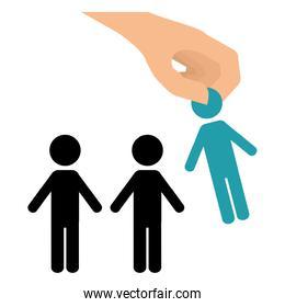 hiring human resources related icons image