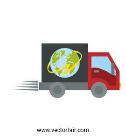 delivery or cargo truck   image