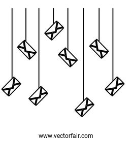 email related icons image