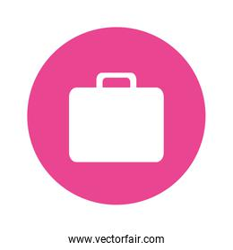 briefcases business button image