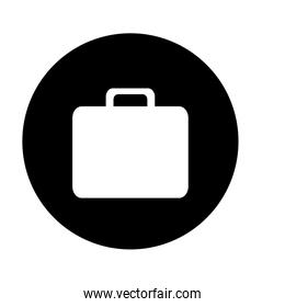 briefcase button thumbnail business icon image