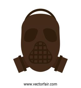 Mask of military protection icon image