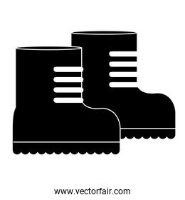 Boots, equipment for military protection icon image