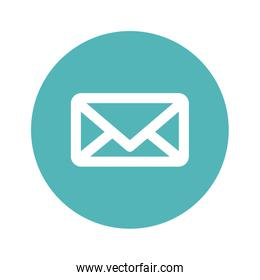 message or email button thumbnail image