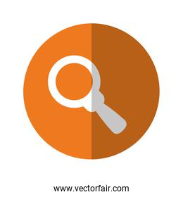 magnifying glass thumbnail icon image