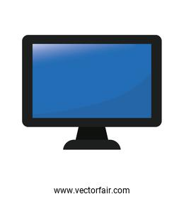 computer frontview icon image